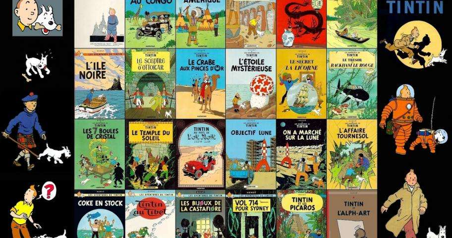 Hergé exhibition at the Grand Palais, a tribute to Tintin's creator